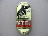 FAHRRAD OLDTIMER Emblem Steuerkopf Schild Mammut Fahrradwerke Bielefeld ~1930-1950 ...