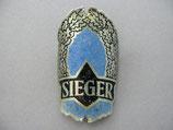 FAHRRAD OLDTIMER Emblem Steuerkopf Schild SIEGER ~1930-1950 ...