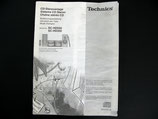 TECHNICS CD-Stereoanlage SC-HD350/550  Bedienungsanleitung