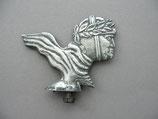 FAHRRAD OLDTIMER Emblem Schutzblech Figur MEISTER Fahrradwerke ~1930-1950 ...
