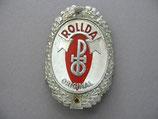 FAHRRAD OLDTIMER Emblem Steuerkopf Schild ROLLDA ~1930-1950 ...