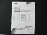 JVC UX-M3R Micor Component System Bedienungsanleitung