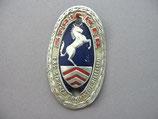 FAHRRAD OLDTIMER Emblem Steuerkopf Schild STRICKER Bielefeld Original ~1930-1950 ...