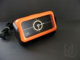 MEISTER ANKER SE-2 electric PopArt Orange Uhr Wecker ~1970...