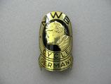 FAHRRAD OLDTIMER Emblem Steuerkopf Schild MWB Cycle MEISTER ~1930-1950 ...