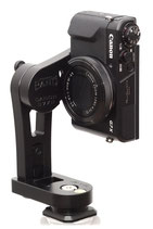 pocketPANO COMPACT nodal head for Canon G7 X Mark II