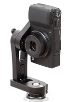 pocketPANO COMPACT nodal head for RICOH GR II