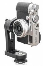 pocketPANO COMPACT nodal head for Fujifilm X100F
