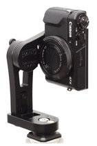 pocketPANO COMPACT Nodalpunktadapter für die Canon G7 X Mark II