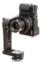 pocketPANO COMPACT Nodalpunktadapter für die PANASONIC LX100 II