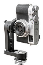 pocketPANO COMPACT nodal head for Fujifilm X100V