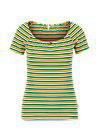 T-Shirt stripe heart Blutsgeschwister