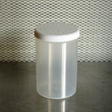4x MycoGenetics Labordose 1200 ml aus PP mit Innendeckel