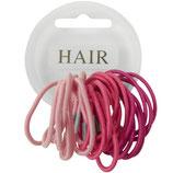 kleine elastiekje in 3 verschillende tinten roze