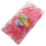 Elastische elastieken 1,5 cm roze