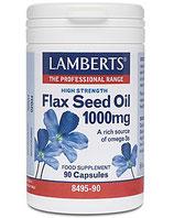 Flax Seed Oil 1000 mg Kps