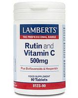 Rutin and Vitamin C 500 mg Tbl