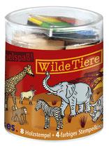 Stempelbox Wilde Tiere