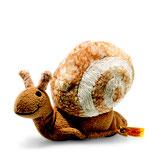 Steiff Snailly Schnecke 20 cm  beige /braun