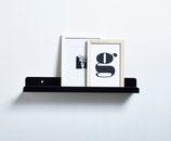 Bücherboard - schwarz