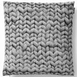 Kissen Twirre grey