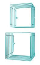 """""""Wire Box"""" - türkis 2er Set"""