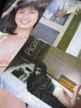 【切り抜き】石田えり 約35ページ ピンナップ2枚