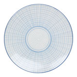 Teller Quadrate blau - strömshaga