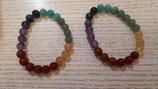 Bracelet en pierre naturelle fantaisie et 7 chakras