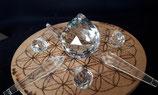 Cristal de roche pour travaux énergétiques, soins, plusieurs modèles