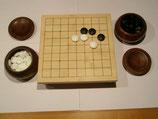 Go-Tischchen  9x9, mit Schalen