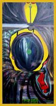 Hoffnung - Öl & Acryl auf Leinwand - 50 x 100cm