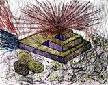 Explosion - Kunstgrafik - 25x17,5cm