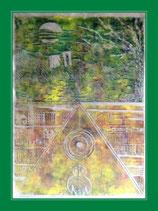 Gebet - Kunstgrafik auf Kartonblatt 28x39cm