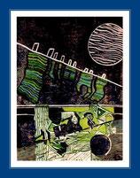 Mondnacht - Kunstgrafik - sold
