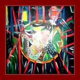 Asia - Acryl auf Leinwand - 40x40cm