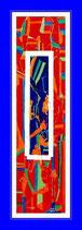 Dingsda - Öl auf Leinwand 41x159cm