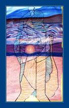 Der Weise - Öl auf Leinwand - sold (Lucio Dalla)