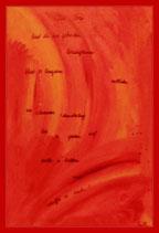 Red - Öl auf Leinwand 50x80