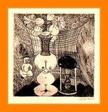 Clown - Kunstgrafik 35x25,2cm