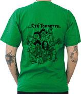 """T-Shirt """"Bordées Sauvages"""" - VERT"""