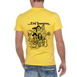 "T-Shirt ""Bordées Sauvages"" - JAUNE"