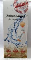"""Zirbenkugel Set mit """"Spiegelau"""" Wasserkaraffe 1 Liter"""