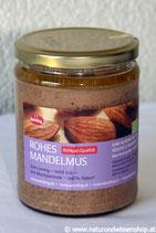 Mandelmus Rohkost BIO 500g - 100% süße Mandeln