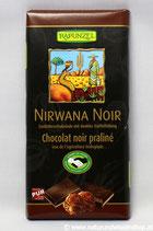 Schokolade Nirwana Noir Trüffelfüllung Vegan BIO 100 g