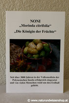 """Broschüre NONI """"Königin der Früchte"""""""