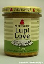 Lupi Love Curry BIO, Süßlupinenaufstrich 165g im Glas