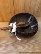 Kokosnuss Schalen Set