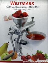 """Frucht- & Beerenpresse """"Starke Else"""""""