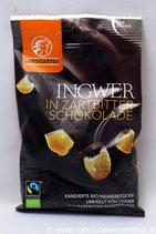 Ingwer in Zartbitter Schokolade BIO 70g